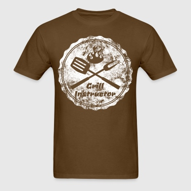 grill instructor - Men's T-Shirt