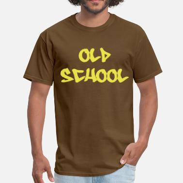 Old School Graffiti Old School - Men's T-Shirt