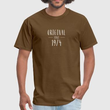 Since 1974 Original since 1974 - Born in 1974 - Men's T-Shirt