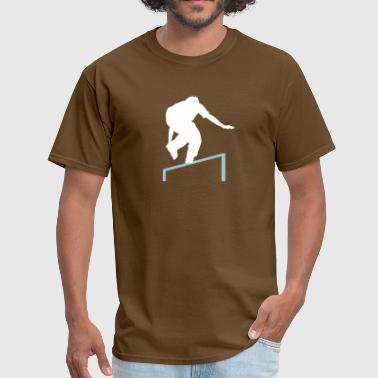 Roller Blade skating rail - Men's T-Shirt