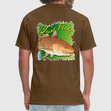 Redfish Just Fish Redfish green - Men's T-Shirt