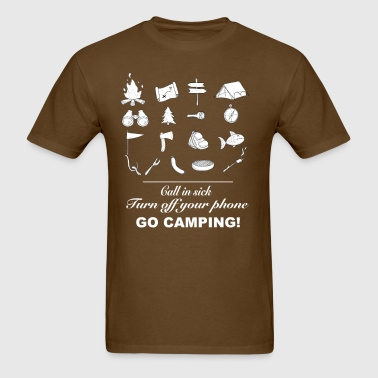 Go Camping! - Men's T-Shirt