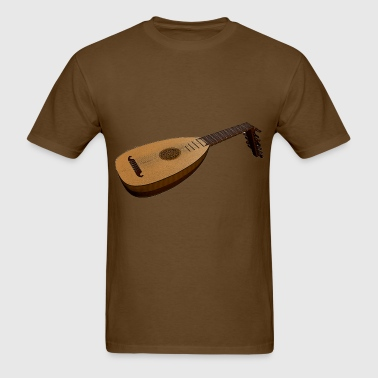 Lute Music Sheet - Men's T-Shirt