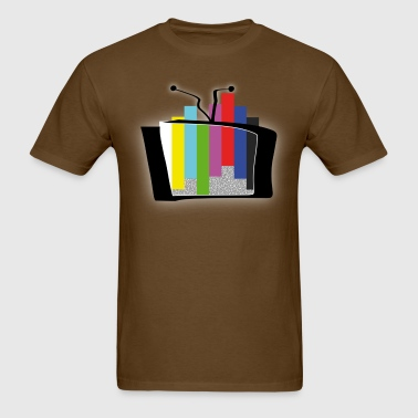 Color Bars Outbreak - extended 2 - Men's T-Shirt