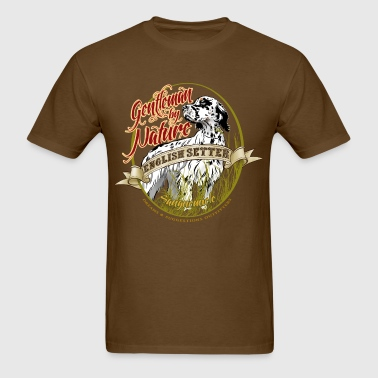 setter_gentleman_by_nature - Men's T-Shirt
