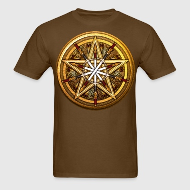 Swords & Daggers Pentacle - Men's T-Shirt