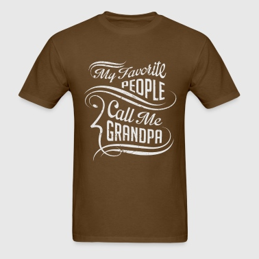 Favorite Grandpa - Men's T-Shirt