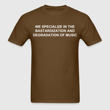 SUBPAR DEGRADATION BROWN - Men's T-Shirt