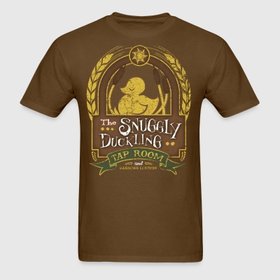 The Snuggly Duckling Tap Room - Men's T-Shirt