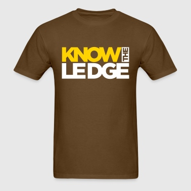 know the ledge - Men's T-Shirt