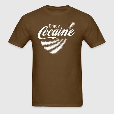 Enjoy Cocaine v2 - Men's T-Shirt
