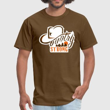 Country Strong Country Strong Brown Shirt - Men's T-Shirt