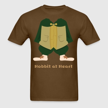 Hobbit at Heart - Men's T-Shirt