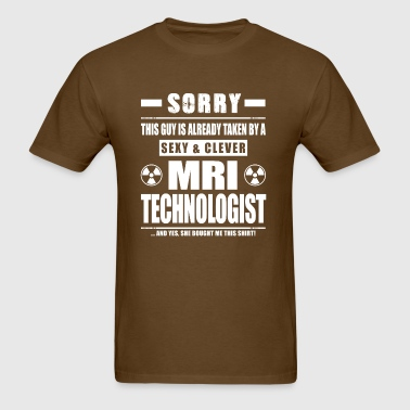 Guy Taken - MRI Technologist Shirt Gift - Men's T-Shirt