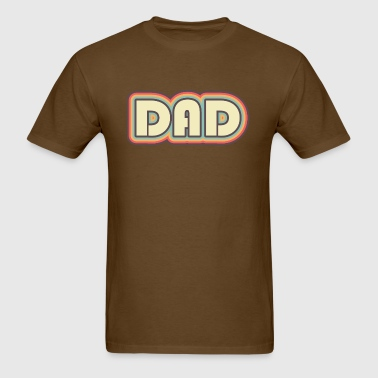 Retro 70s Dad - Men's T-Shirt