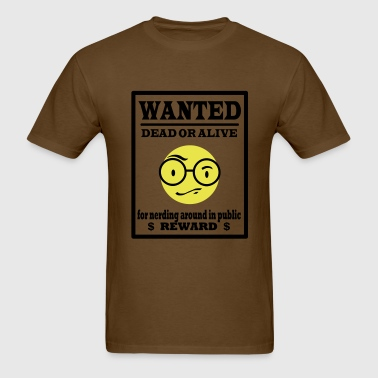 nerd_wanted - Men's T-Shirt