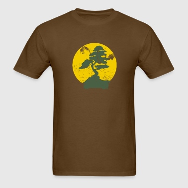 Vintage Bonzai Tree Graphic - Men's T-Shirt