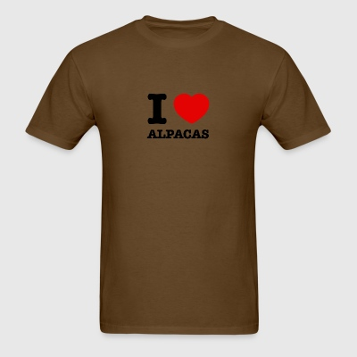 alpacas design - Men's T-Shirt