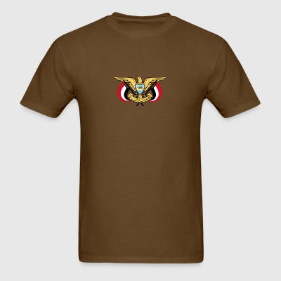 Emblem of Yemen svg - Men's T-Shirt