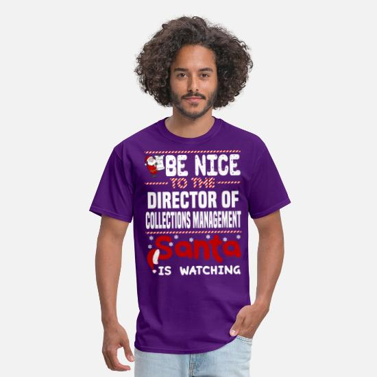 Watch T-Shirts - Director of Collections Management - Men's T-Shirt purple