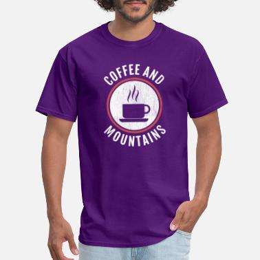 Icing Coffee And Mountains - Men's T-Shirt