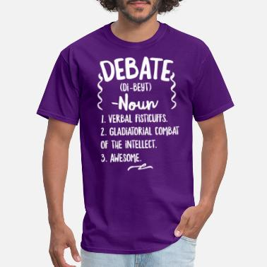 Lawyers DEBATE DEFINITION DICTIONARY - Men's T-Shirt