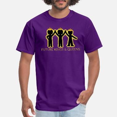 King Kids FUTURE KINGS AND QUEENS KIDS - Men's T-Shirt