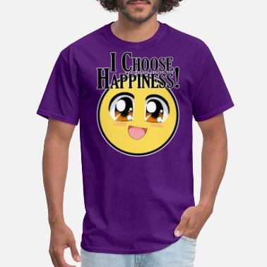 Transformer Jesus Christ I choose happiness - A Course in Miracles - Men's T-Shirt