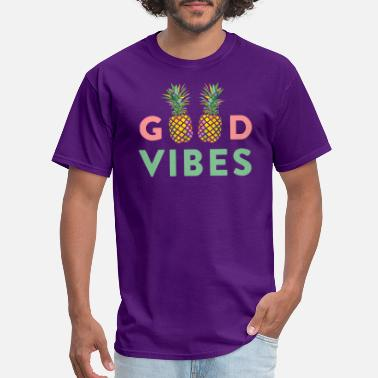 Good Vibes AD GOOD VIBES PINEAPPLES - Men's T-Shirt