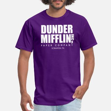 Tv Show Dunder Mifflin Inc A Paper Company Funny TV Show 6 - Men's T-Shirt
