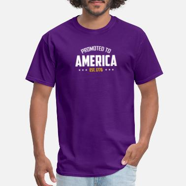 1776 America Promoted To America Est 1776 T shirt - Men's T-Shirt