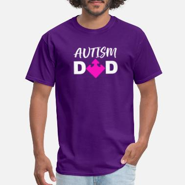 Autism Girl Autism Awareness Dad for Girls - Men's T-Shirt