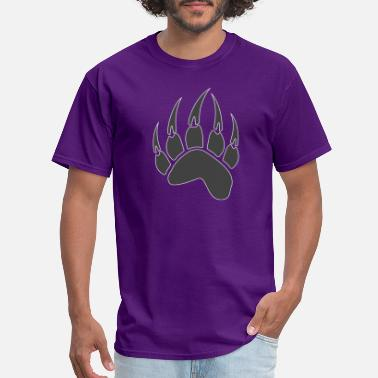 Bear Paw Bear Paw Native American Spirit Animal Totem T-Shirt - Men's T-Shirt