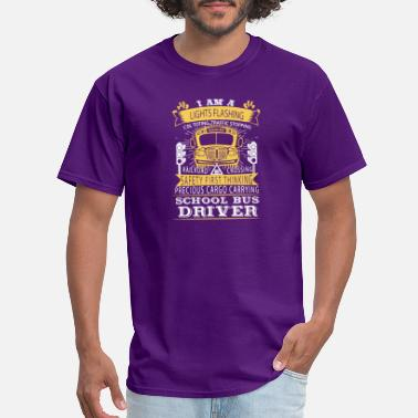 Mens School Bus Driver School Bus Driver Shirt - Men's T-Shirt
