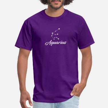 Zodiac Stars Aquarius Star sign Zodiac - Men's T-Shirt