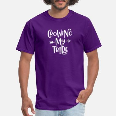 Growing my tribe - Men's T-Shirt