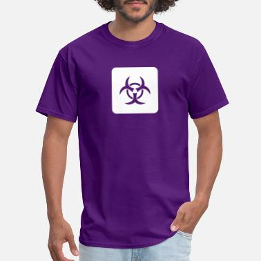 Environmental Biological Caution: Biological Risk - Men's T-Shirt