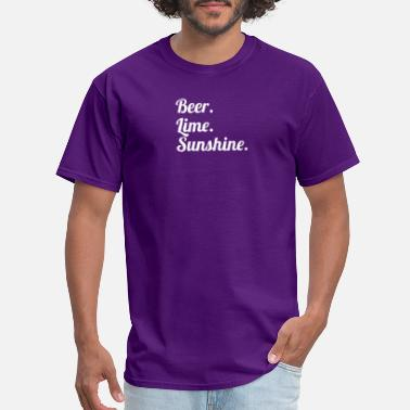 Beer Lime And Sunshine Beer Lime Sunshine 4 - Men's T-Shirt