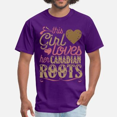 Canadian Gift Canadian Roots Shirt Gift - Men's T-Shirt