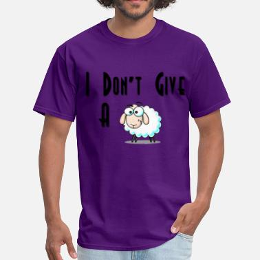 Dont Give A Shit Men's T-Shirt - I Don't Give A Sheep  - Men's T-Shirt