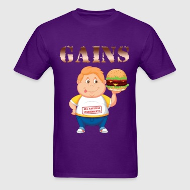 Gains - Swoll Shop - Men's T-Shirt