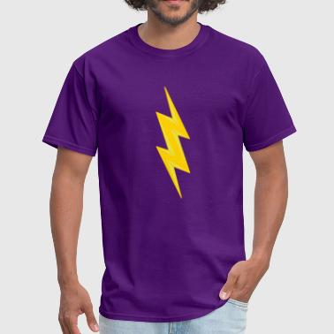 Electric Shock electric shock danger shield lightning symbol cabl - Men's T-Shirt