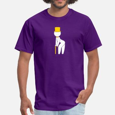 Sensual Stripper A Stripper Dancing On Stage - Men's T-Shirt