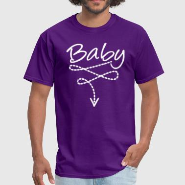 Baby bely Funny Saying - Men's T-Shirt