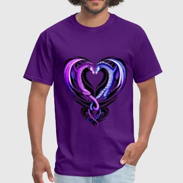 Dragon Heart - Men's T-Shirt
