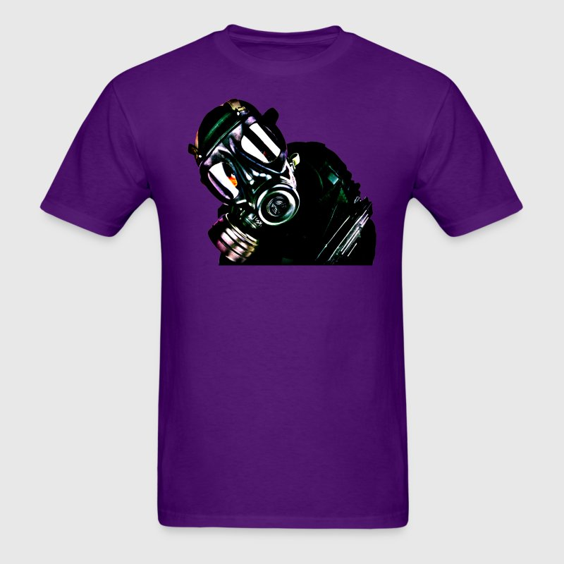 Gas Mask - Men's T-Shirt