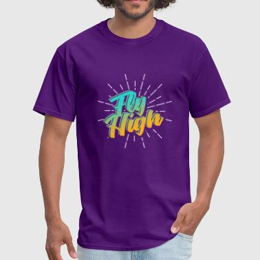 Geo Fly High - Men's T-Shirt