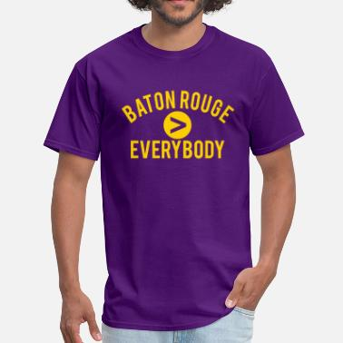 Les Miles Baton Rouge  Everybody - Men's T-Shirt