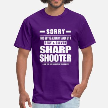 Second Amendment Guy Taken - Sharpshooter Shirt Gift Shooter - Men's T-Shirt