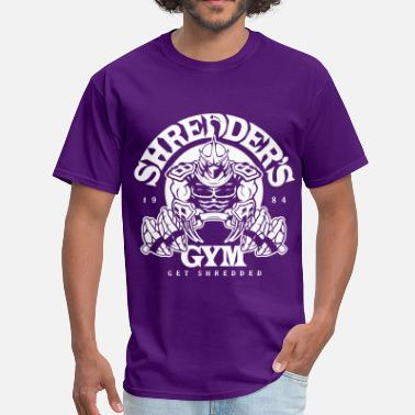 Shredder shredder's gym - Men's T-Shirt
